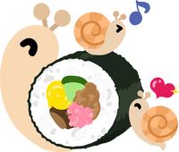 Cute snail illustration [5038366] An
