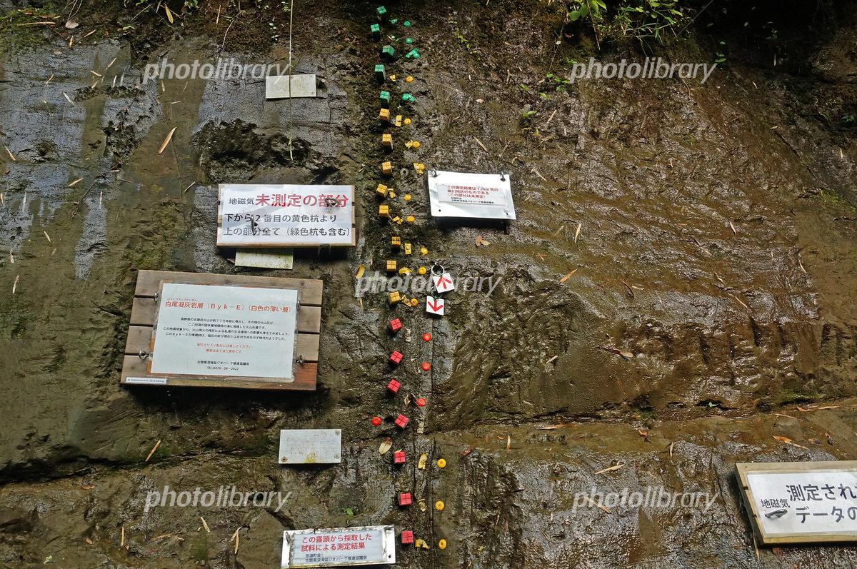 地層見学地の例「千葉セクション」 写真素材 [ 5134607 ] - フォトライブラリー photolibrary