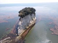 見附島の空撮