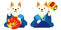New Year Illustration Yearly [5130394] Dog