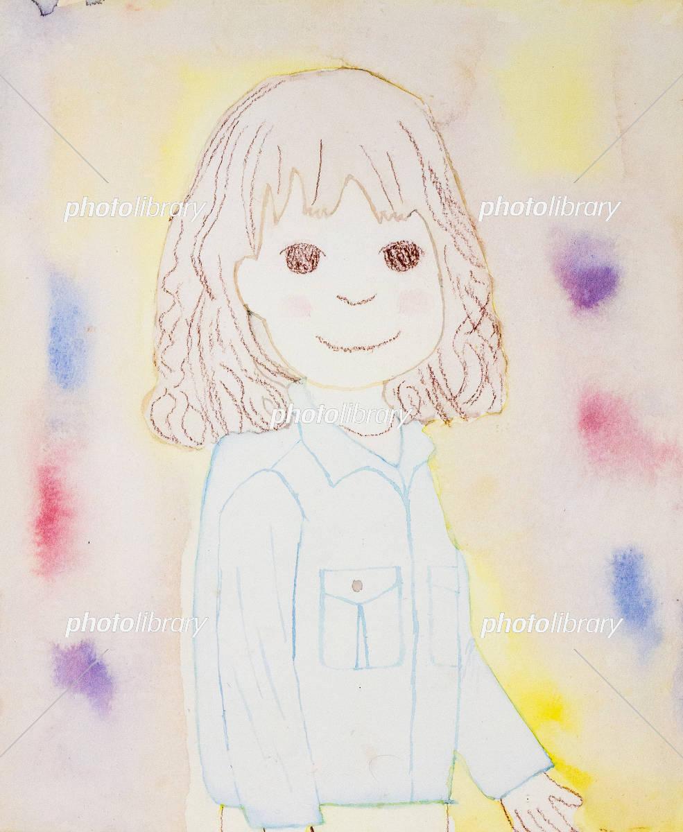 ショートボブの女の子 イラスト素材 5214273 フォトライブラリー