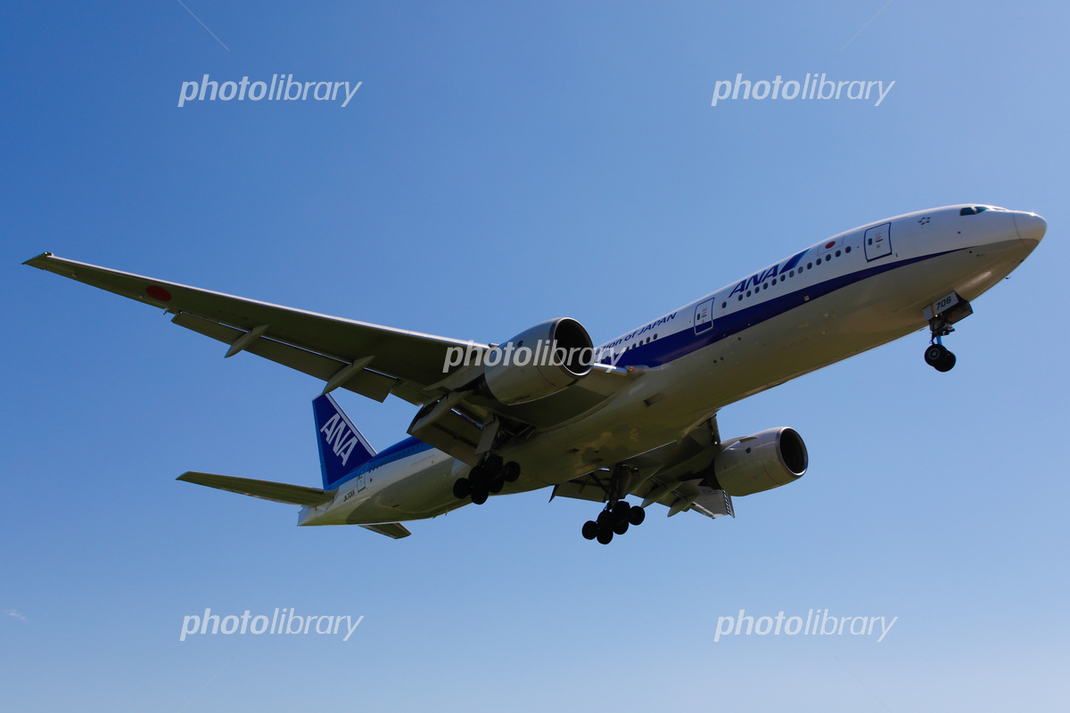 Ana 777 着陸 写真素材 フォトライブラリー Photolibrary