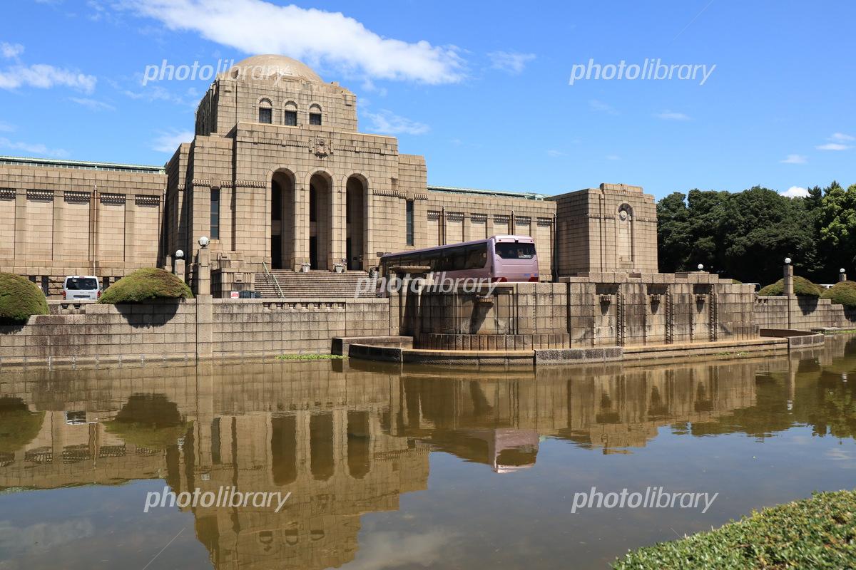 聖徳記念絵画館の建物 写真素材 [ 5218958 ] , フォトライブ