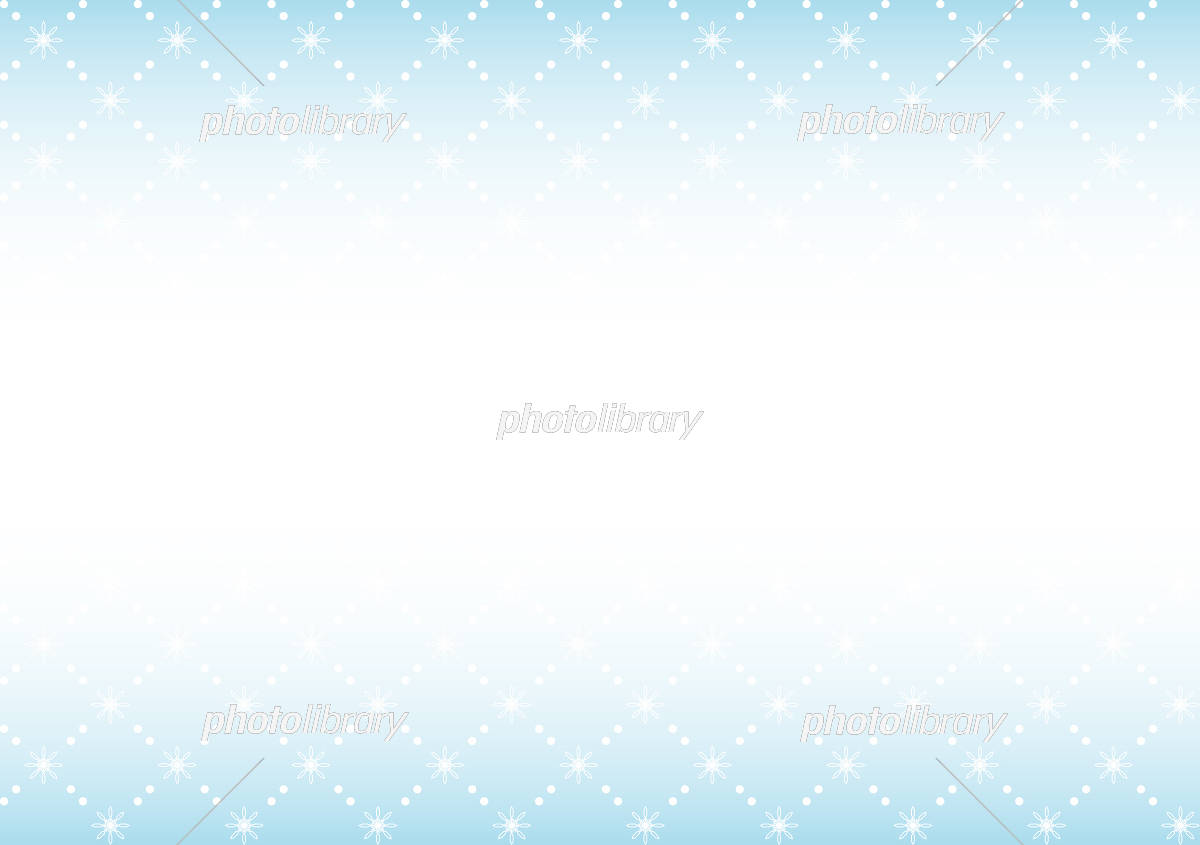 雪の結晶 背景 イラスト素材 [ 5219194 ] - フォトライブラリー