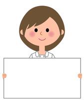 Nurse Whiteboard  Illust