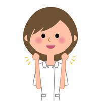 Nurse guts pose  Illust