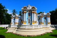 エカテリーナ宮殿 Catherine Palace (Ekaterina Palace) in Sankt-Peterburg
