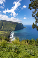 Waipio Valley Lookout Big Island Hawaii ワイピオ渓谷