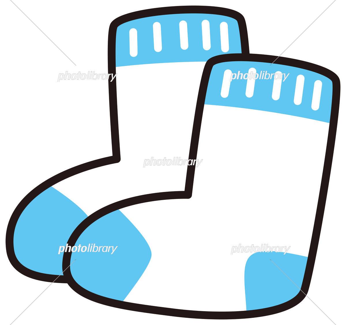 かわいい靴下 イラスト素材 [ 5786311 ] , フォトライブラリー