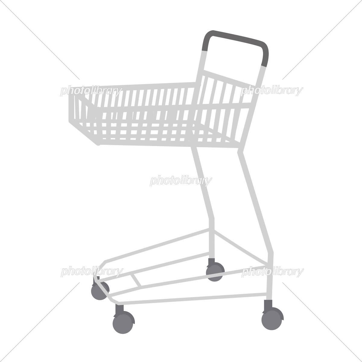 ショッピングカート イラスト イラスト素材 5823415 フォトライブ