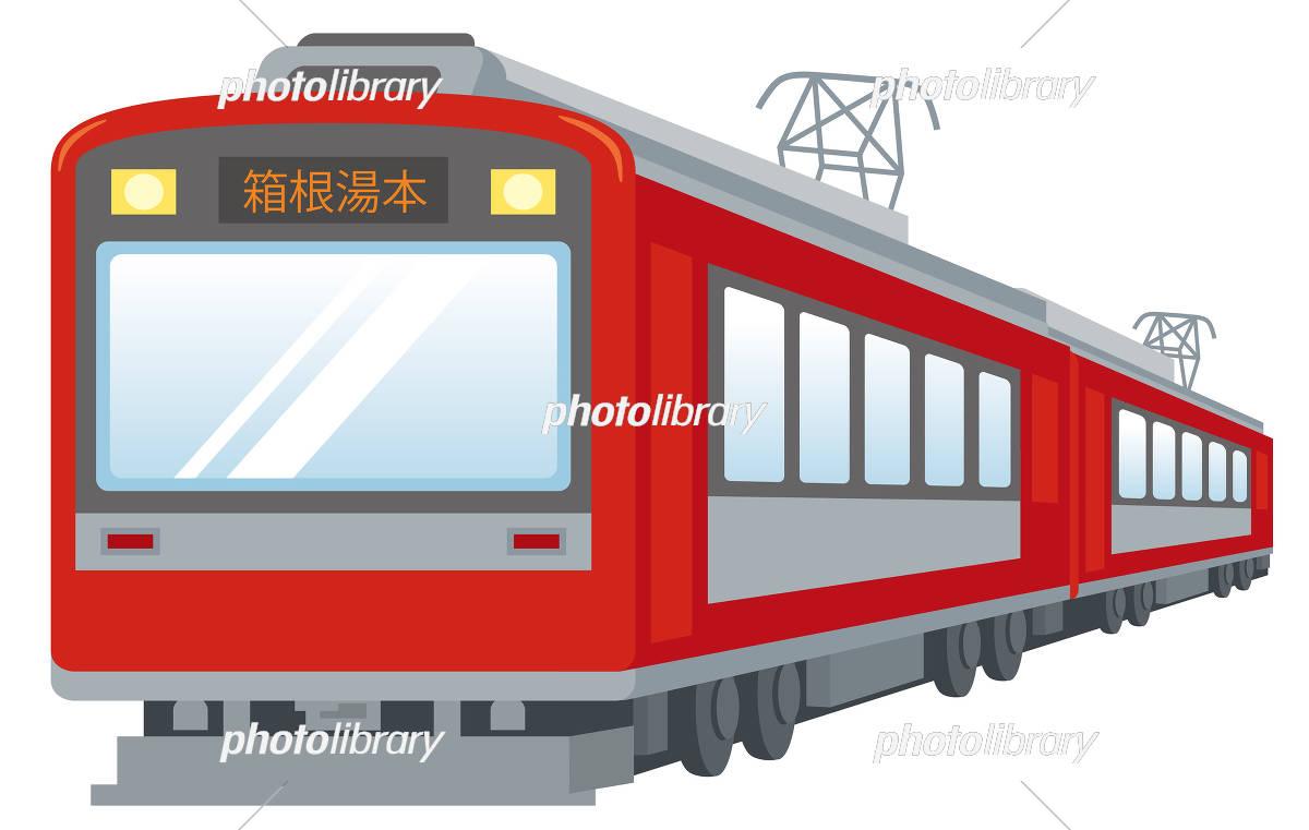 箱根登山鉄道 イラスト イラスト素材 5974894 フォトライブラリー
