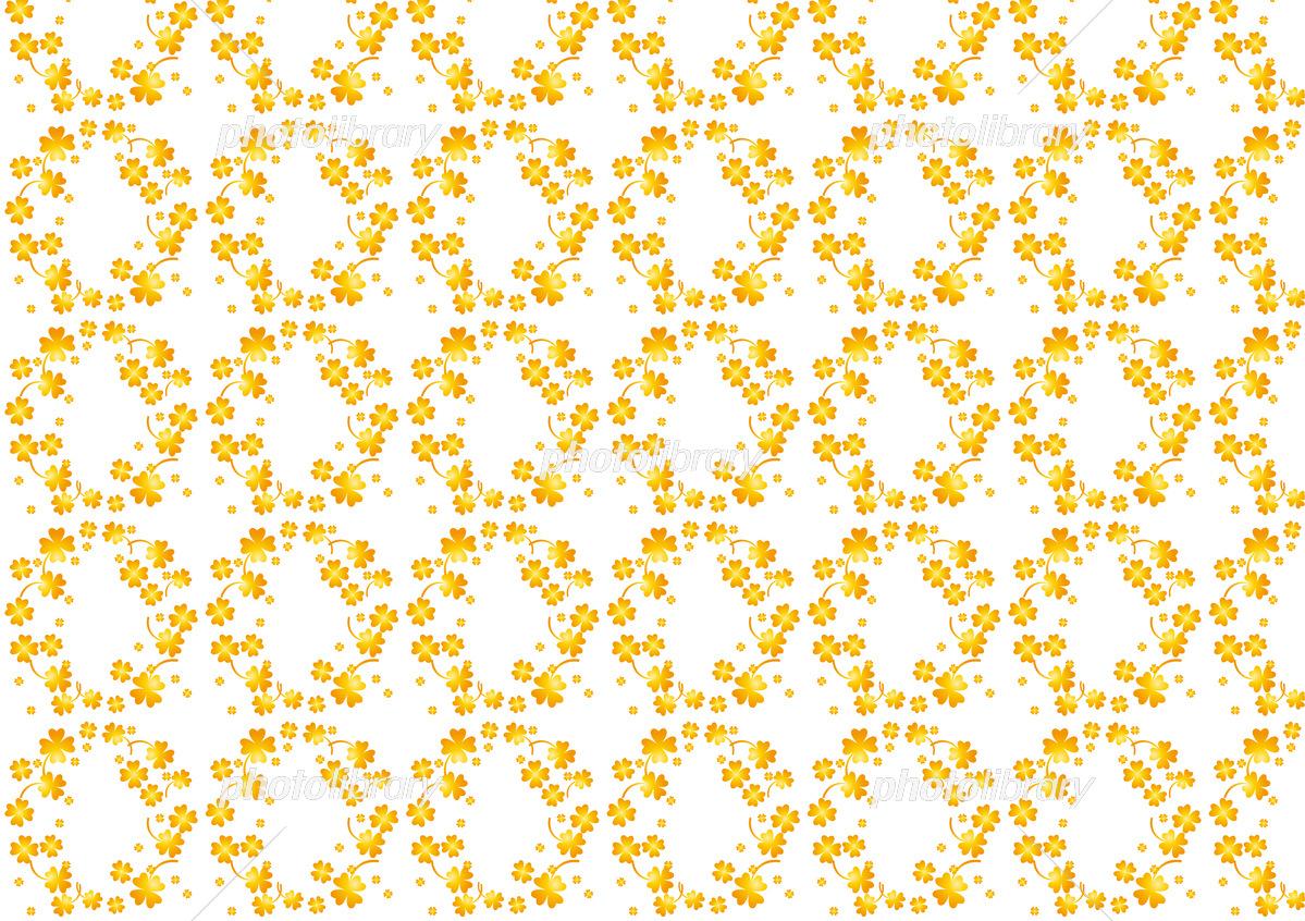 クローバーカラフルパターン壁紙 イラスト素材 6300729 フォト