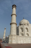 Taj Mahal to have a spire towering to the sky Stock photo [819083] India