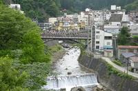 Fukushima Prefecture Tsuchiyu Onsen spa town Stock photo [822228] Doyu