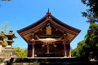 Hakuto Jinja hall of worship Stock photo [825648] Hakuto
