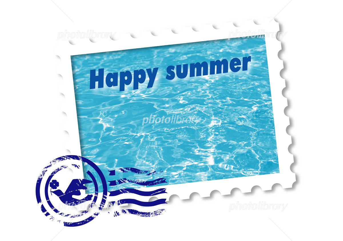 Summer greeting イラスト素材