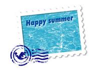 Summer greeting [885705] Summer
