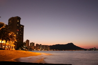 Sunrise of Diamond Head Stock photo [888082] Hawaii