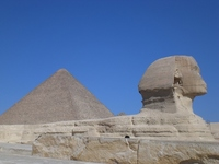 [World Heritage] pyramids and Sphinx Stock photo [890231] World