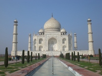 [World Heritage] Taj Mahal in Agra, India Stock photo [890263] World