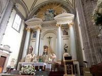 Mexico Metropolitan Cathedral altar Stock photo [892865] Mexico