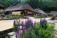 Spring of Aizu west highway Ouchi inn Stock photo [894445] Ouchi