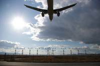 Landing Stock photo [894545] Airport