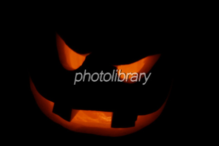 Halloween pumpkin lantern Photo