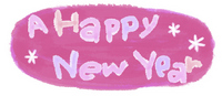 Happy New Year Pink [991691] New