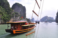 Vietnam Halong Bay Cruise Stock photo [993992] Halong