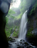Yufugawa canyon of rain Stock photo [994417] Oita