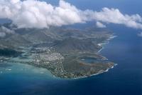 Hawaii Kai Hanauma Bay Aerial Stock photo [995370] Hawaii