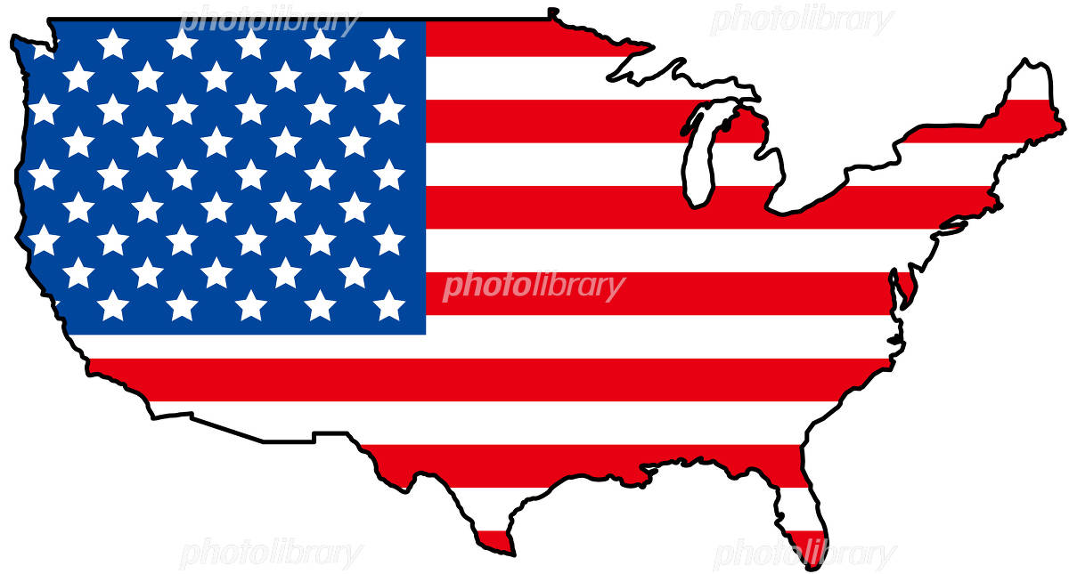 アメリカ合衆国 イラスト素材 [ 1096315 ] - フォトライブラリー ...