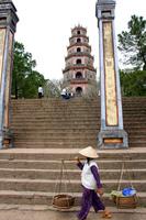 Vietnam, Hue Tinmu temple Stock photo [1095612] Vietnam