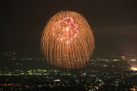 Nagaoka Fireworks three feet ball Stock photo [1102292] Nagaoka