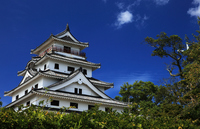 Blue sky and Karatsu Castle Stock photo [1104981] Saga