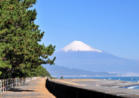 Fuji from the Miho coast promenade Stock photo [1106144] Mt.