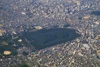 Osaka Nintoku Mausoleum Aerial Stock photo [1106427] Osaka