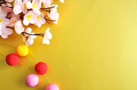 Sum ornament and cherry Stock photo [1107316] New