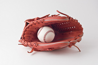 Baseball glove and ball Stock photo [1107933] Globe