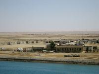 Saudi Arabia of landscape from the Suez Canal Stock photo [1110616] Saudi