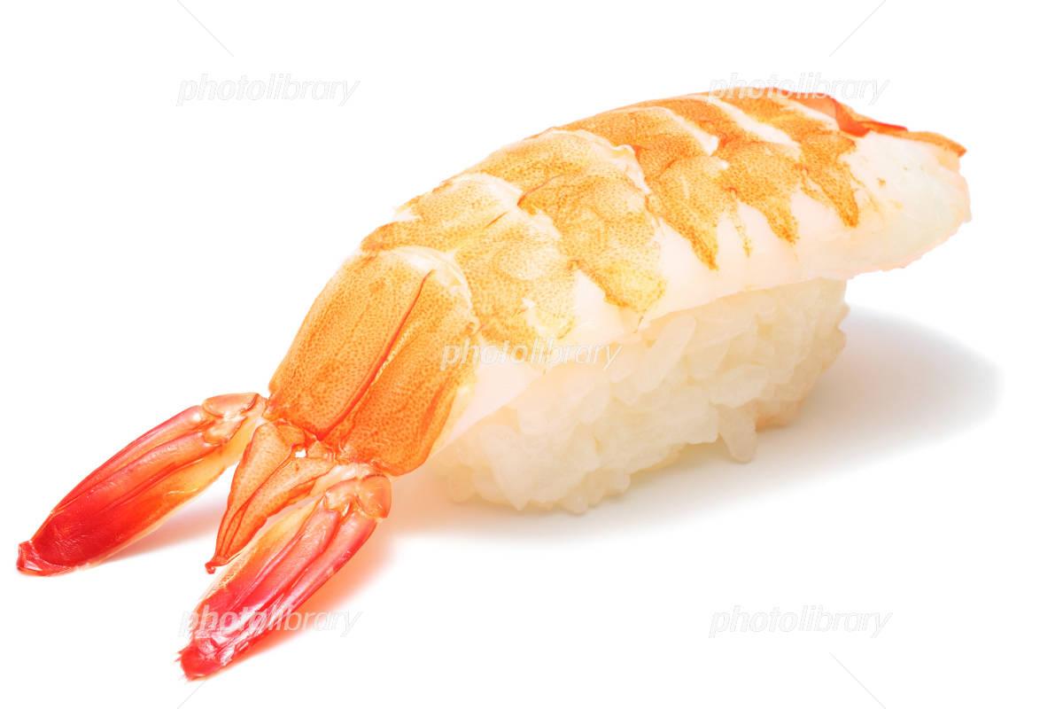 海老の握り寿司 写真素材 1213175 フォトライブラリー Photolibrary