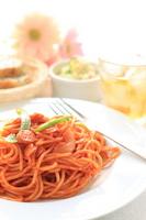 Neapolitan of spaghetti Stock photo [1203303] Spaghetti