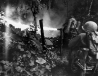 Battle of Okinawa: flamethrower Stock photo [1205266] Battle