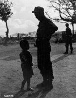 Battle of Okinawa: soldiers and children Stock photo [1205281] Battle