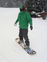 Men who snowboarding Stock photo [1206485] Snowboarding