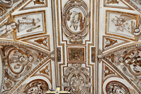 Cordoba cathedral ceiling paintings Stock photo [1207152] World