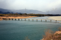 Shikoku Yoshino Kawashima Bridge Stock photo [1207270] Kawashima