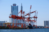 Container Terminal Stock photo [1210721] Harbor