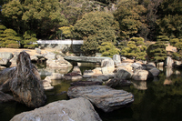 Old Tokushima Castle Table palace garden Stock photo [1211123] Old